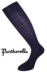 Pantherella 100% Cotton Lisle socks-full calf