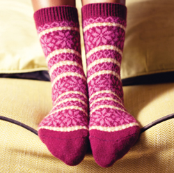 Ladies Short Cashmere Socks