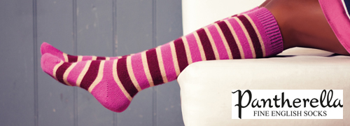 Ladies Long Cashmere Socks