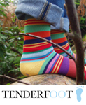 Ladies Tenderfoot Socks