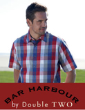 Double Two Bar Harbour Casual Shirts