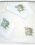Ladies Embroidered Hankies