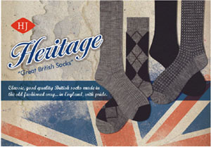 Heritage Socks from HJ Hall