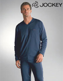 Fine Knitted Jersey Pyjamas and Nightshirts from Jockey