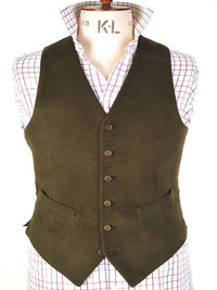 Moleskin Waistcoats from Magee of Donegal