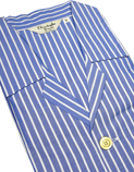 Open Front Cotton &amp; Easycare Men's Nightshirts