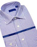 Peter England Long Sleeved Design Shirts
