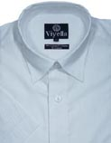 Viyella Cotton Linen Short Sleeved Shirts
