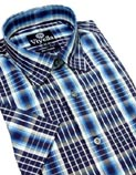 Viyella Short Sleeved Cotton Shirts
