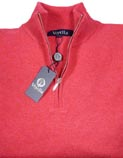 Viyella Zip Neck Lambswool Sweaters