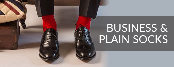 BUSINESS & PLAIN SOCKS