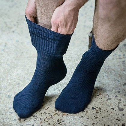 Extra Wide Socks
