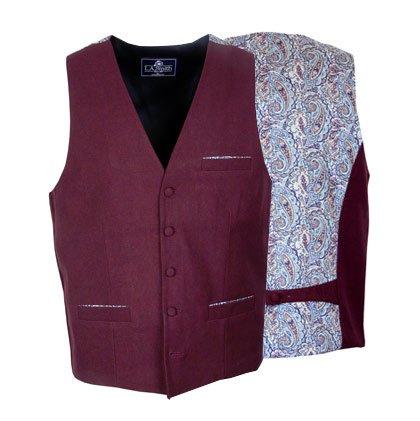 Liberty Pattern Back Waistcoats