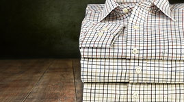 Viyella cotton and wool shirts