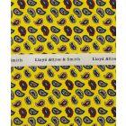 Yellow Birdseye Paisley Top Pocket Hankie