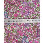 Liberty Print Charles Design in Pink Cotton Pocket Hankie