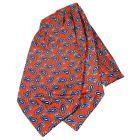 Red Paisley Silk Cravat from Knightsbridge Neckwear