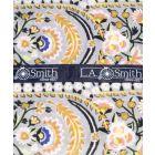 Liberty Print 'Von Trapp' Design in Grey Cotton Hankie
