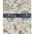 Liberty Print 'Sky High' Design in Green Cotton Hankie