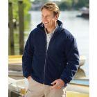 Glen. Navy Fleece Jacket from Champion