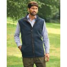 Portree Navy - Microfleece Gilet from Champion