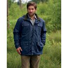 Balmoral - Navy Waterproof Jacket from The Country Estate Range by Champion