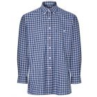 Ashbourne Blue - Button Collar Easycare Shirt from Champion