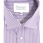 Paradigm - Mens Striped Cotton Shirt from Double Two