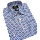 Double Blue Stripe Easycare Shirt