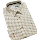 Country Check Cotton Shirt from Woods of Shropshire