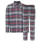 Jockey - Mens Checked Cotton Flannel Pyjamas