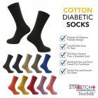 Norfolk Socks - Joseph - Mens Diabetic Socks -Cotton