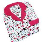 Ladies Cotton Nightshirt in Floral Design from Waites