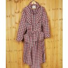 Red and White Check Flannel Gown from Lee Valley