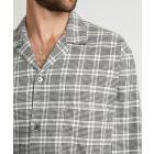 Mens Brushed Cotton Pyjamas in Rathbone Design from Bonsoir of London