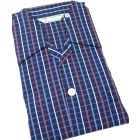 Navy Striped -Mens Tie Waist Cotton Pyjamas from Derek Rose