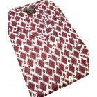 Wine Diamonds Brushed Cotton Tie Waist Pyjamas from Somax