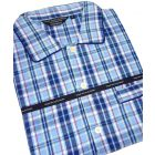 Blue, Red & Yellow Check Cotton Flannel Nightshirt