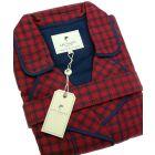 Red Check Irish Country Flannel Nightrobe