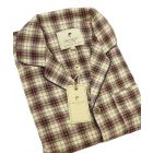 Maroon and White Tartan Flannel Pyjamas from Lee Valley