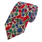Liberty Print 'Poppy and Daisy' in Pink Cotton Tie