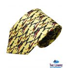 Lowry Figures Silk Tie from Fox and Chave