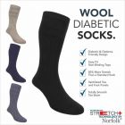 Norfolk Socks - Oskar - Mens Diabetic Socks -Wool