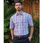 Torquay Checked Short Sleeve Cotton Shirt from Champion Clothing