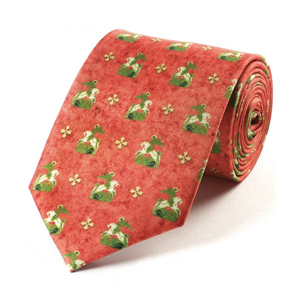 St George & The Dragon Silk Tie from Fox & Chave