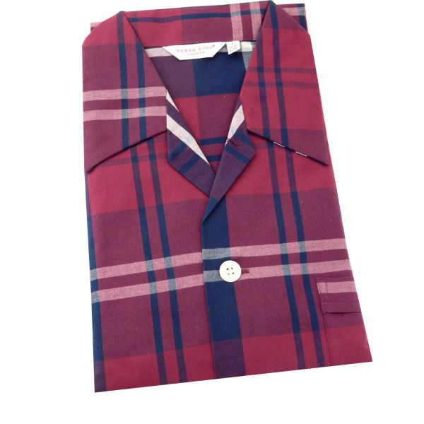 Derek Rose - Mens Cotton Pyjamas - Ranga 041 - Multi