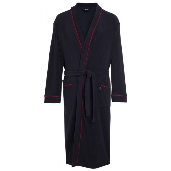 Navy Towelling Bathrobe from Jockey