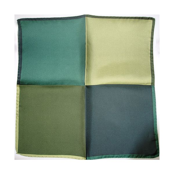 Silk Handkerchief 4 colour green