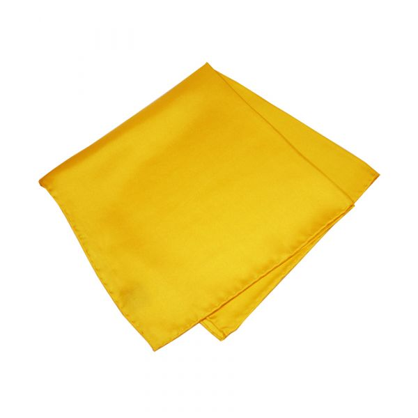Gold Silk Handkerchief