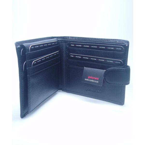 Leather wallet and credit card holder by Golunski